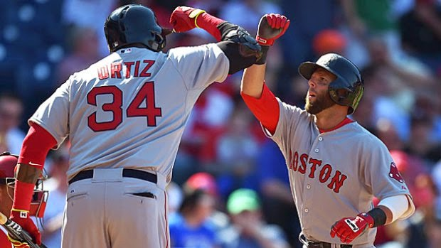Red Sox Go 'Homer Happy'; Rout Phillies, 8-0