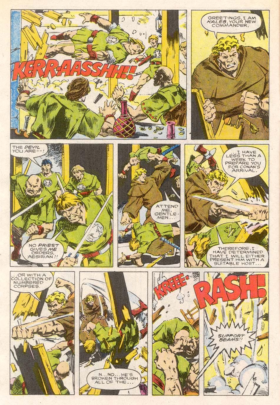 Conan the Barbarian (1970) Issue #193 #205 - English 11