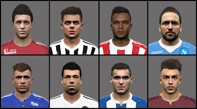 PES 2016 European teams facepack by PantelG7