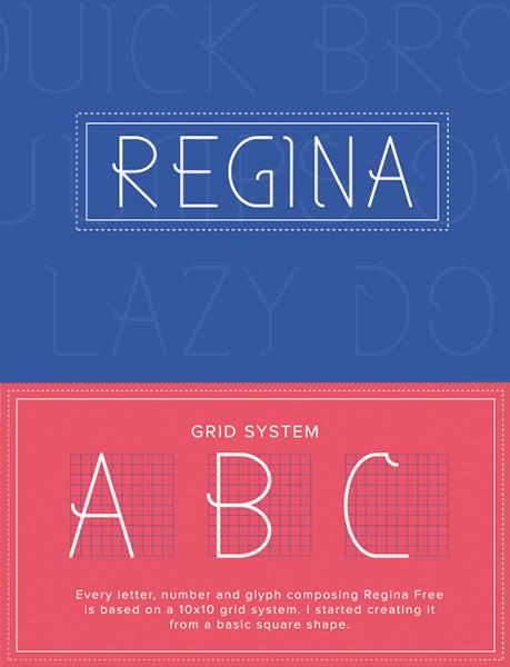 Regina font
