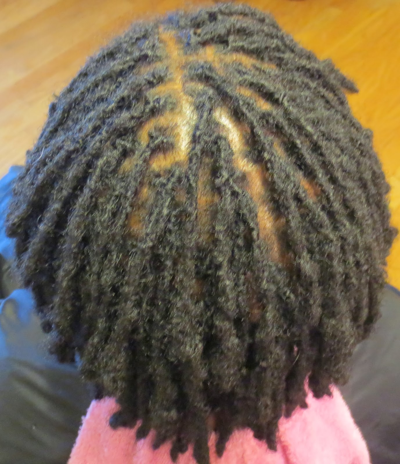 Myth #2 – You can tell a difference when locs have beeninterlocked.