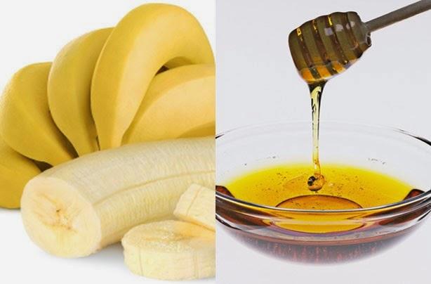 Cách trị mụn trứng cá từ thiên nhiên với chuối tiêu và mật ong