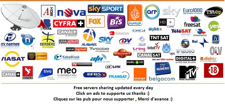 free servers sharing