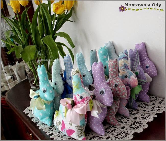 Montownia Ody Wielkanocne Mięciutkie Zajączki