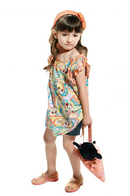 Model Baju Fashion Show Batik Anak