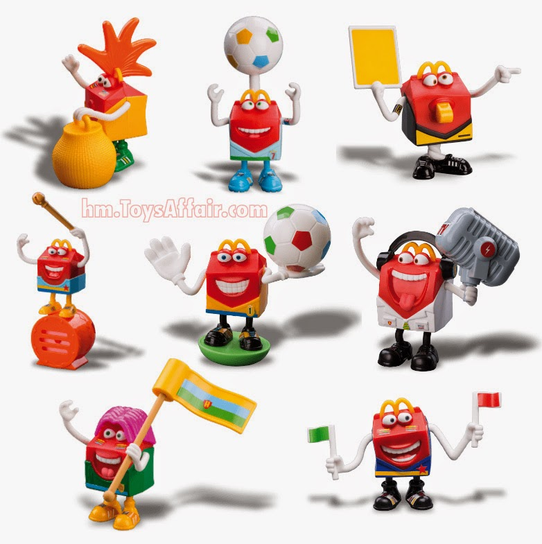 Happy Meal Toys : Happy football club meal toys