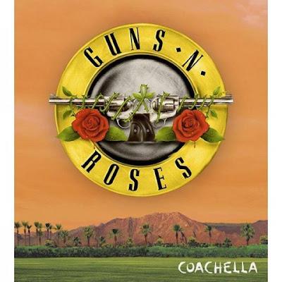 GUNS N' ROSES - reunion - ufficiale - Coachella - 2016