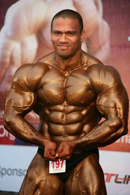 Amit Chhetri a Indian Gorkha Body Builder - Videos and Photos