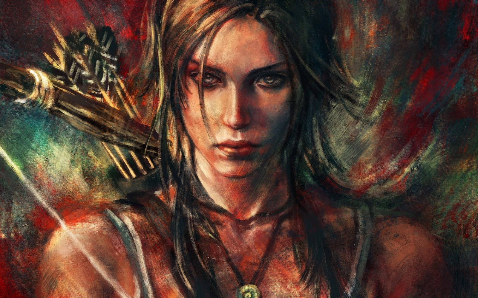 lara croft tomb raider artwork wallpapers - Tomb Raider Wallpapers on Art of TombRaider DeviantArt