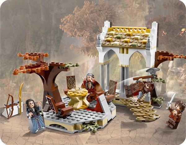 Packs gratis de Lego el Señor de los Anillos