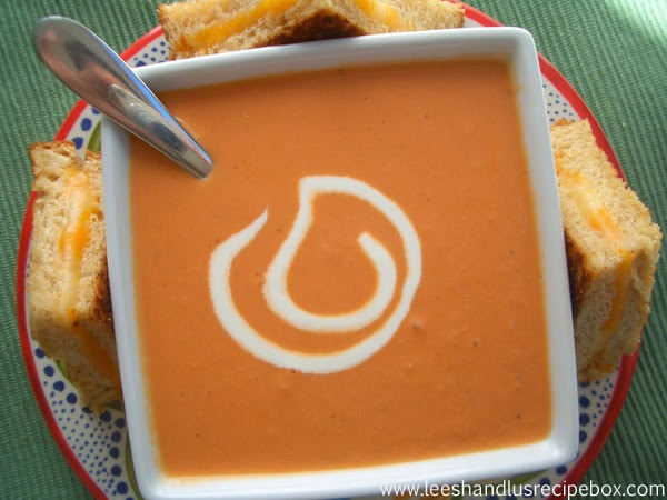 Creamy Tomato Soup Recipe Fall Soup