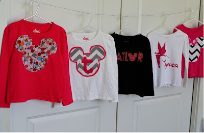 DIY Disney Shirts for Girls