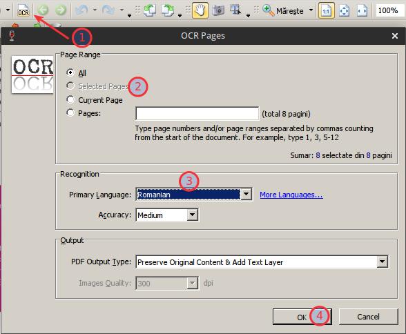 PDF X-Change Viewer OCR Linux