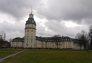 Karlsruher Schloss (Rückseite)