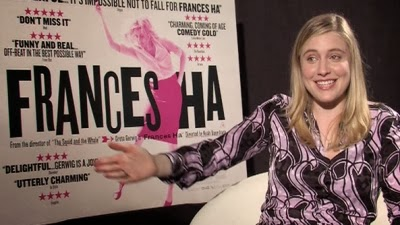 Greta Gerwig co-wrote and stars in FRANCES HA