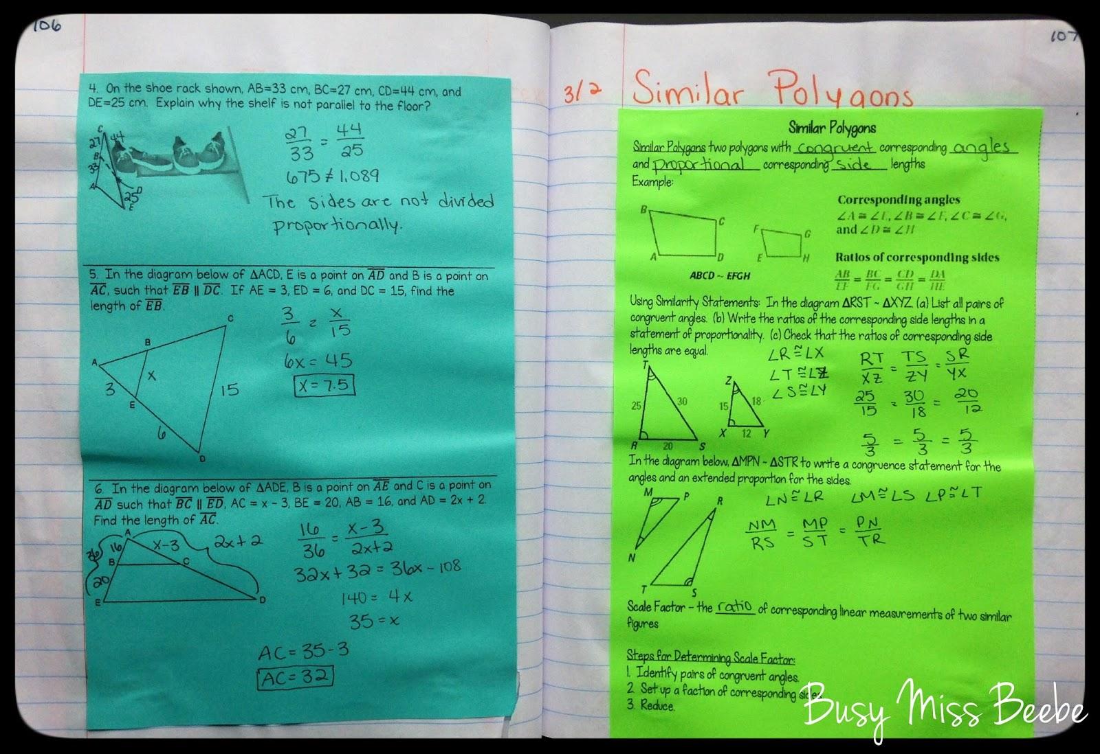100+ [ Side Splitter Theorem Worksheet ] : Missing Side ...
