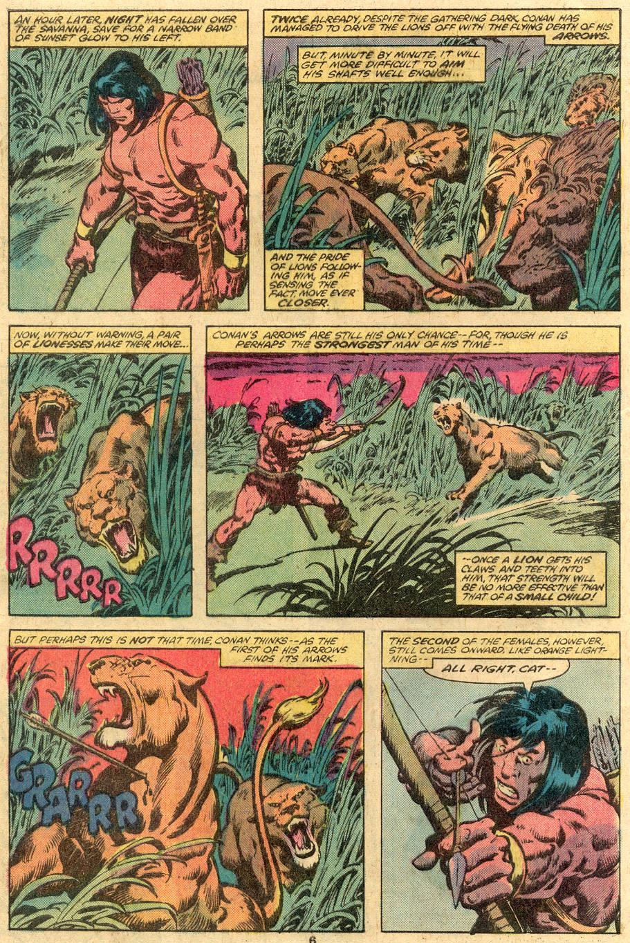 Conan the Barbarian (1970) Issue #105 #117 - English 6