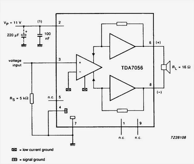 3 w mono btl audio output amplifier
