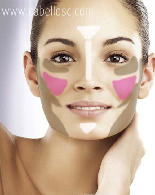 maquillaje para rostro cuadrado