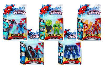Hasbro Ultimate Spider-Man Power Webs Figure Assortment
