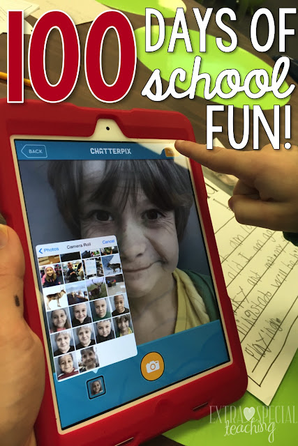 Are you looking for a fun activity to celebrate 100 days of school? This idea will have your students writing, reading, using technology, and laughing.