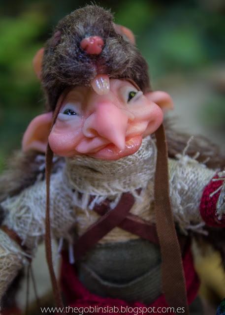 ooak fantasy fae creature cunning elf
