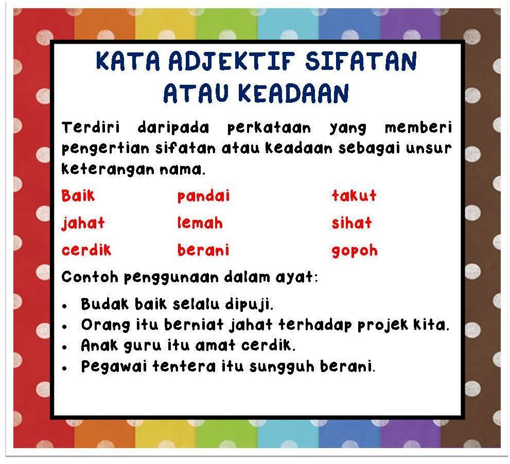 Kata Adjektif Related Keywords & Suggestions - Kata Adjektif Long Tail