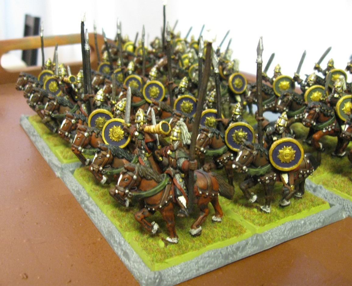 Tides of war 28mm rohan army for Rohan design