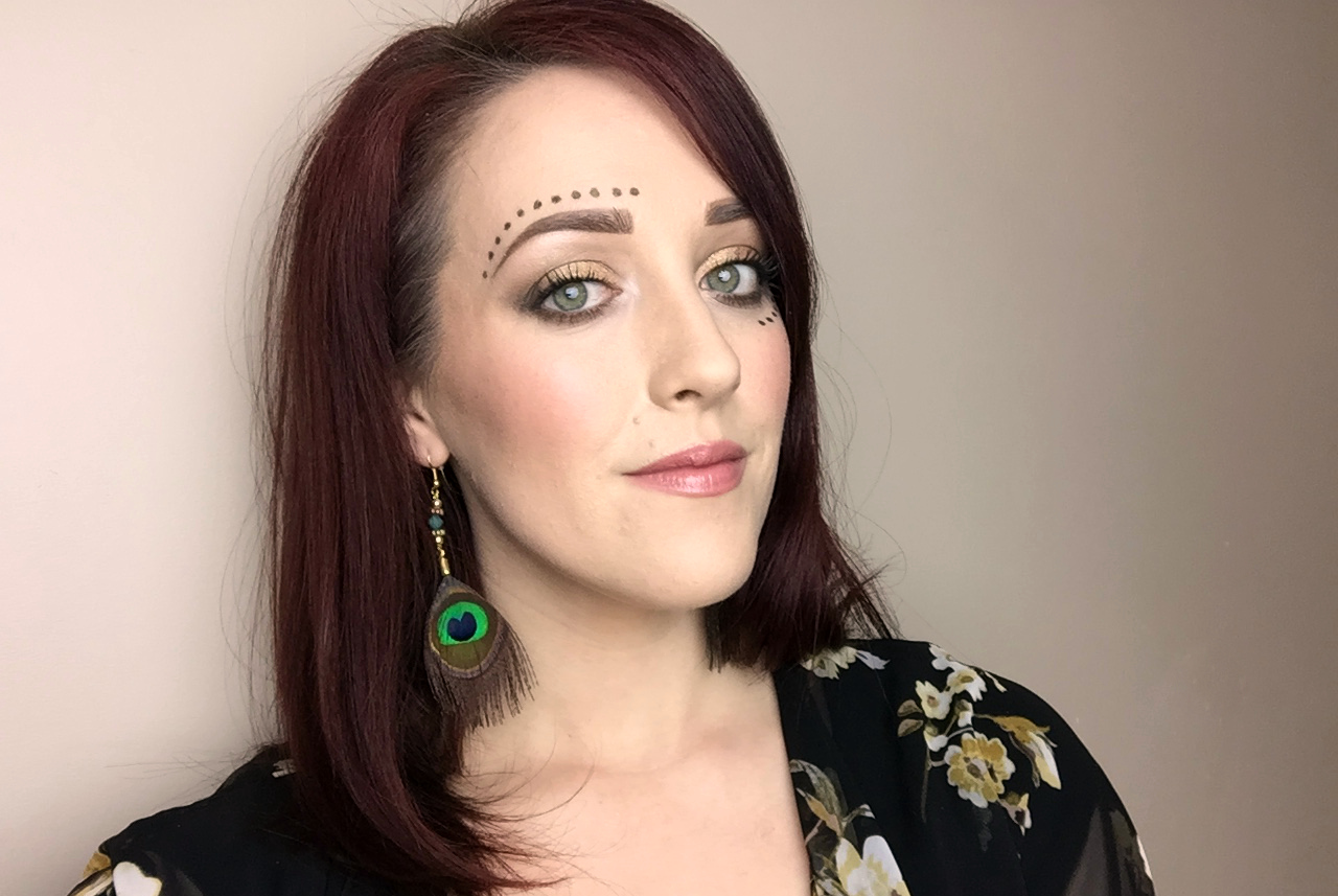 Glam Coachella Makeup Look