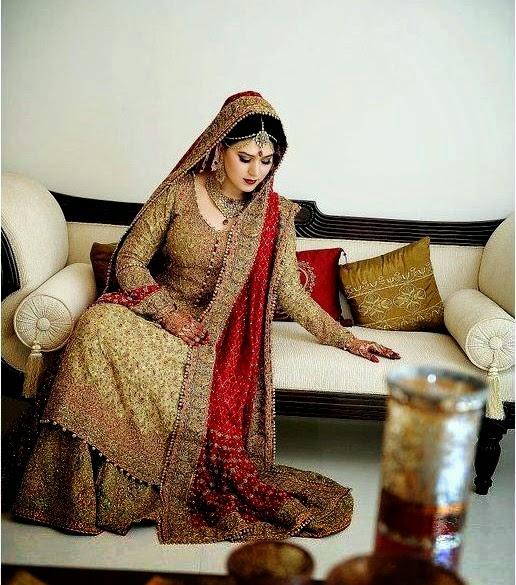 Bunto kazmi Bridal Dresses 2014