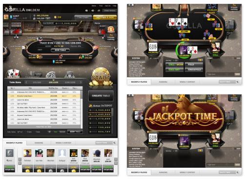 FB Game : Poker Gorilla