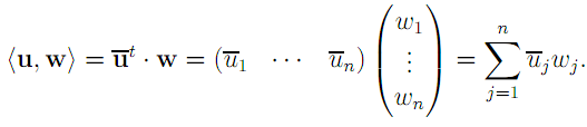 Linear Algebra: #20 Characterizing Orthogonal, Unitary, and Hermitian Matrices equation pic 5