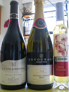 3 Wines for Video Chat Wine and #CdnCheese tasting on Google+