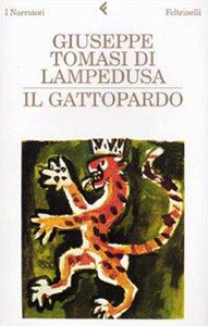 Portada italiana de El gatopardo, de Giuseppe Tomasi di Lampedusa