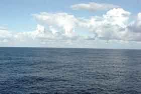 Aguas del área del Triángulo de las Bermudas