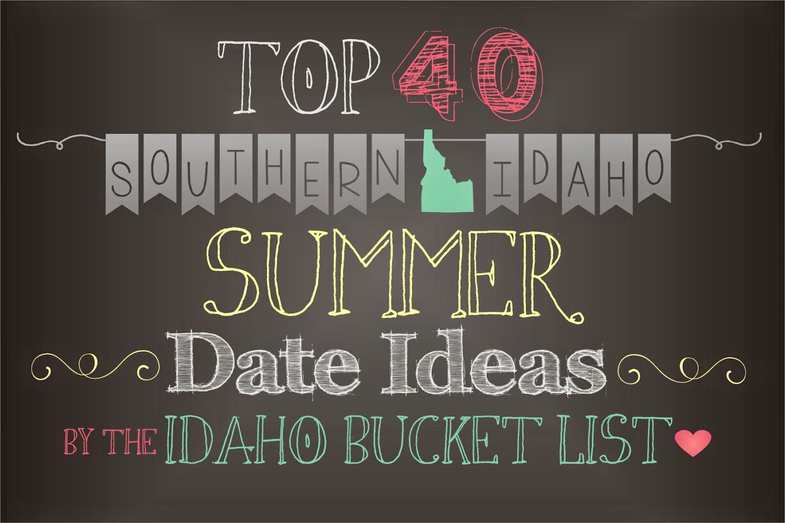 http://idahobucketlist.blogspot.com/2014/04/top-40-southern-idaho-summer-date-ideas.html