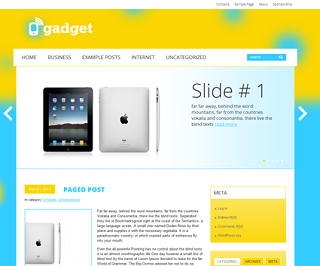 Gadget-Blogger-Template