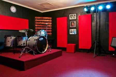 Model Desain Ruangan Studio Musik 2015