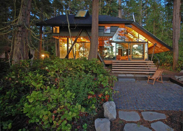 Diseño de interiores & arquitectura: swinomish cabaña inspirada ...