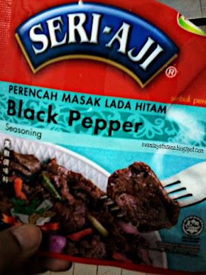 Resepi kupang masak blackpepper paling mudah dan sedap