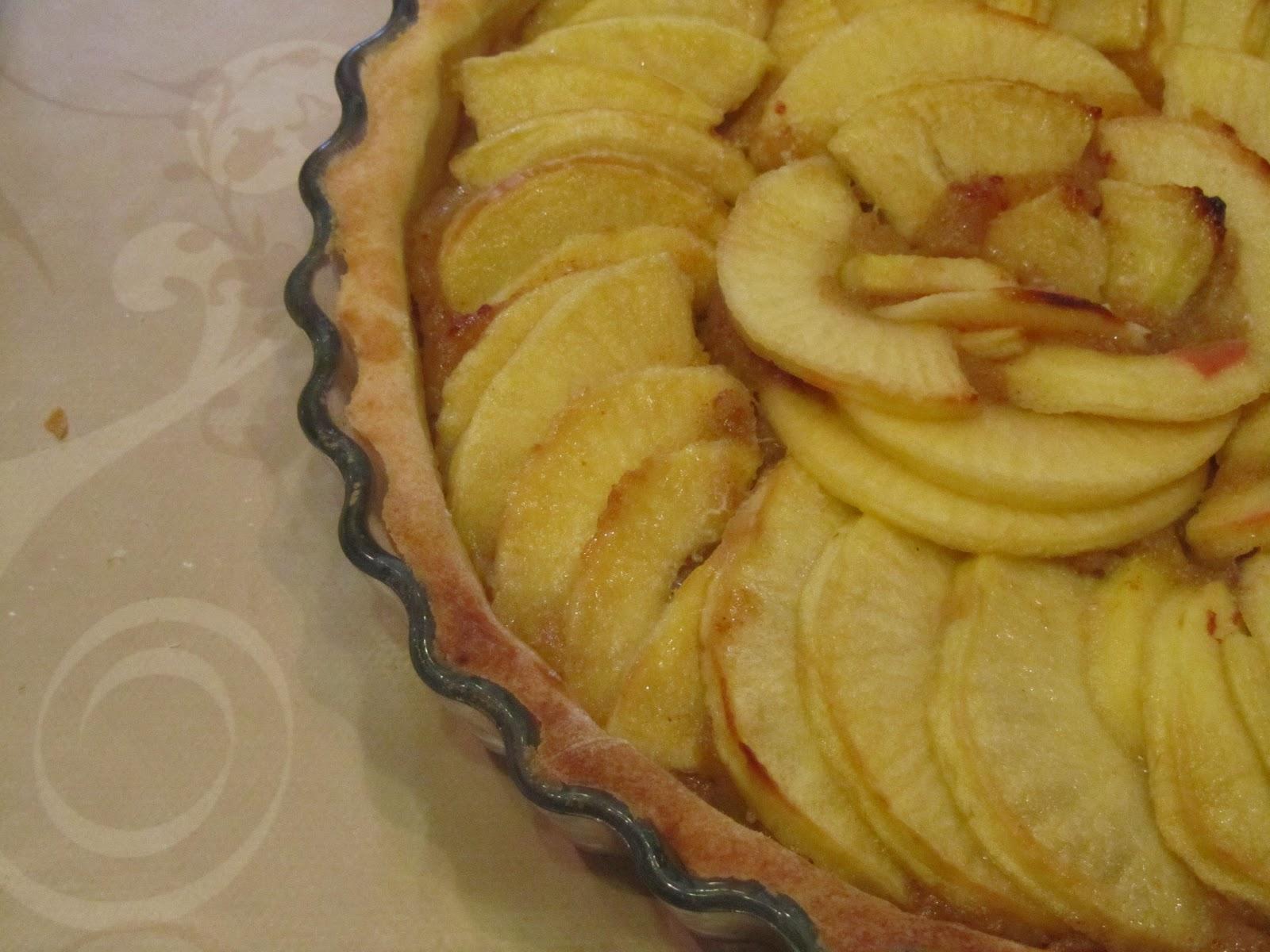 Patatie patatas tarte aux pommes la compote poire - Tarte aux pommes compote maison ...