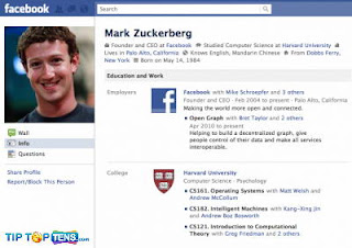 10 Orang Pertama yang Menjadi Pengguna Facebook