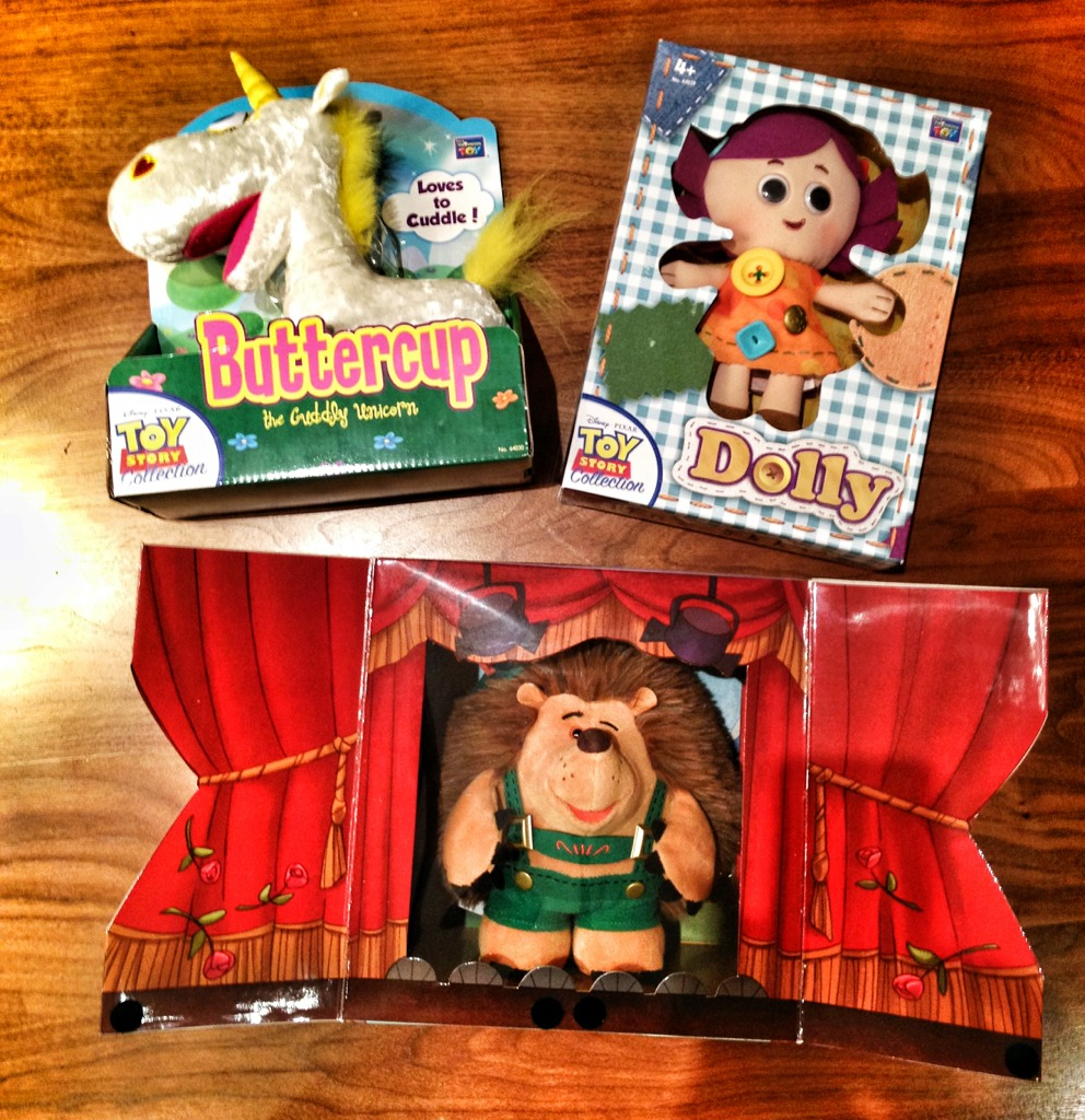 Toy Story Colección Toy_Story_Collection_Buttercup_Dolly_Mr-Pricklepants