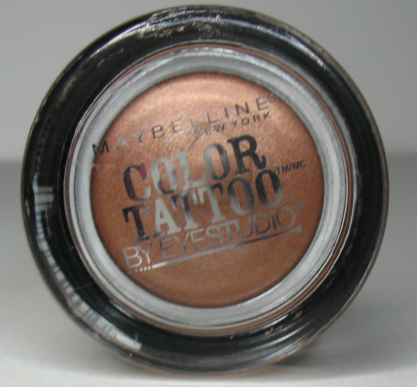 Beyond just beauty maybelline color tattoo cream for Maybelline color tattoo gel eyeshadow