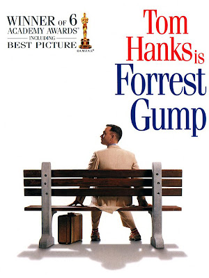 Poster Of Forrest Gump (1994) In Hindi English Dual Audio 160MB Compressed Small Size Mobile Movie Free Download Only