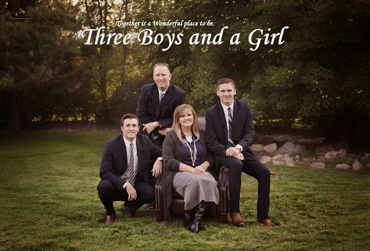 Three Boys and A Girl