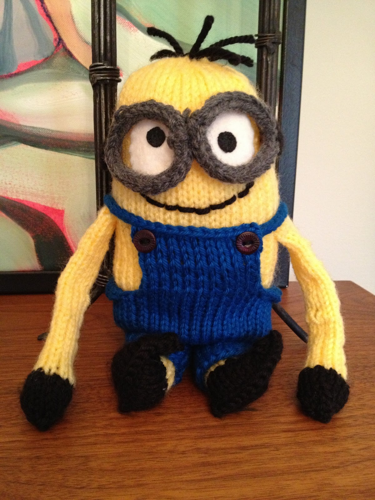 Small Heart Knitting Pattern : Its a Sewing Life: A Knitted Minion
