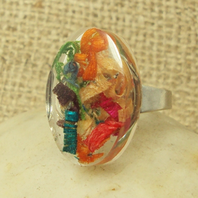 how to make resin ring jewellery