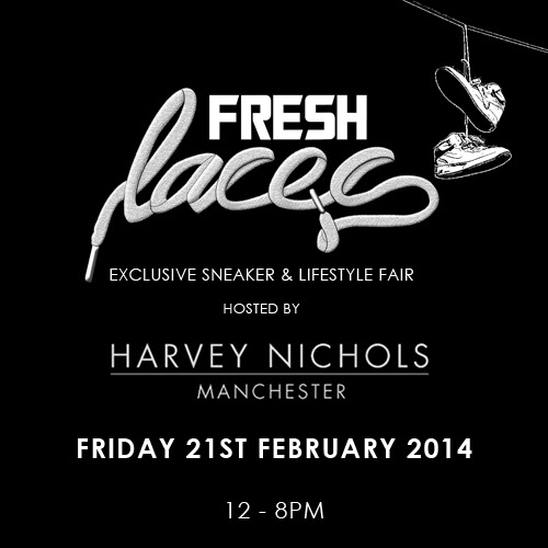 fresh laces, harvey nichols manchester, nathstar, sneaker event