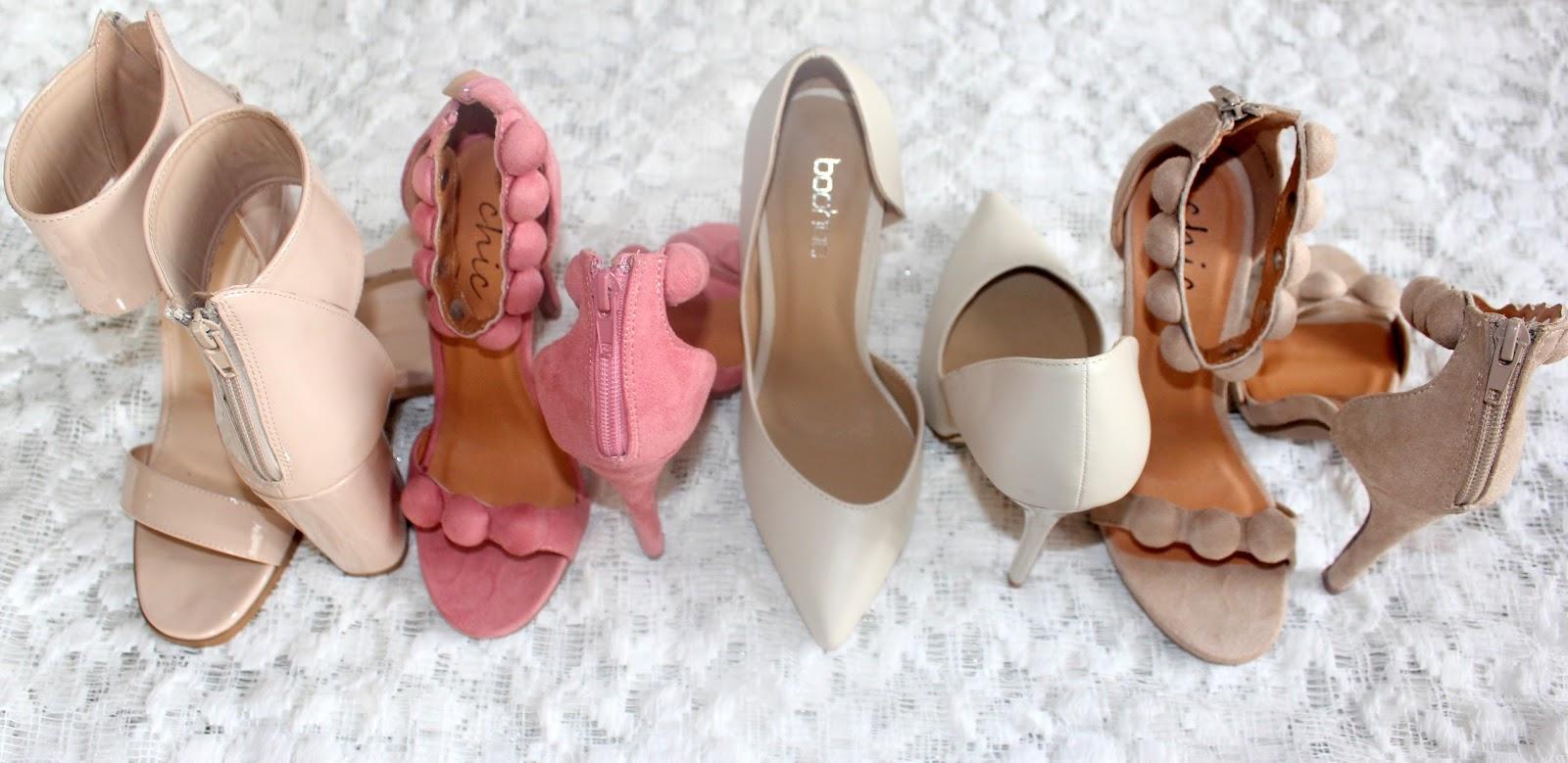 Shoe Haul - Boohoo (Nudes n Pink)